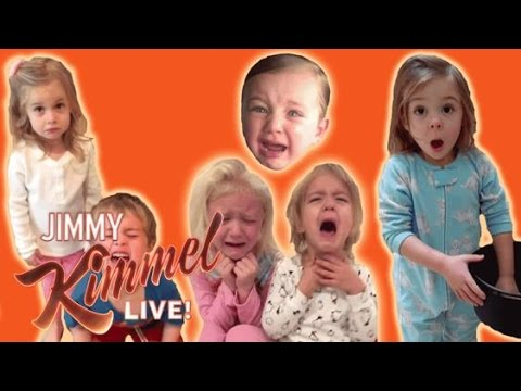 Jimmy Kimmel Shares This Year's 'I Told My Kids I Ate All Their Halloween Candy' YouTube Challenge