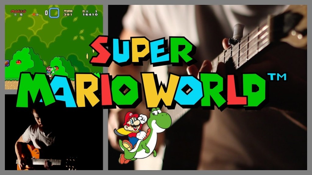 Samuraiguitarist Plays a Cover of the Super Mario World Soundtrack With Sound Effects