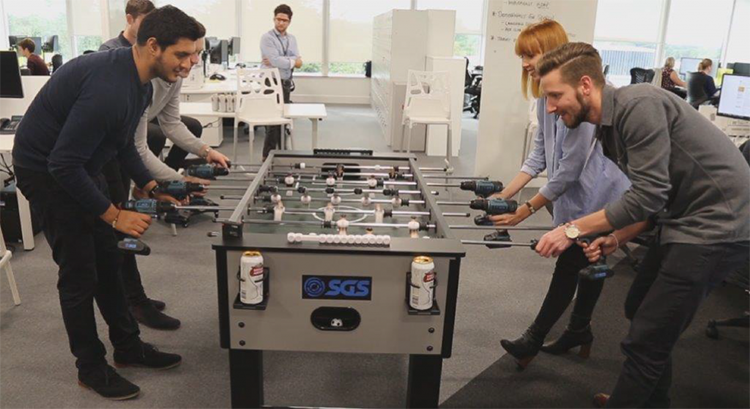 Power Drill Foosball