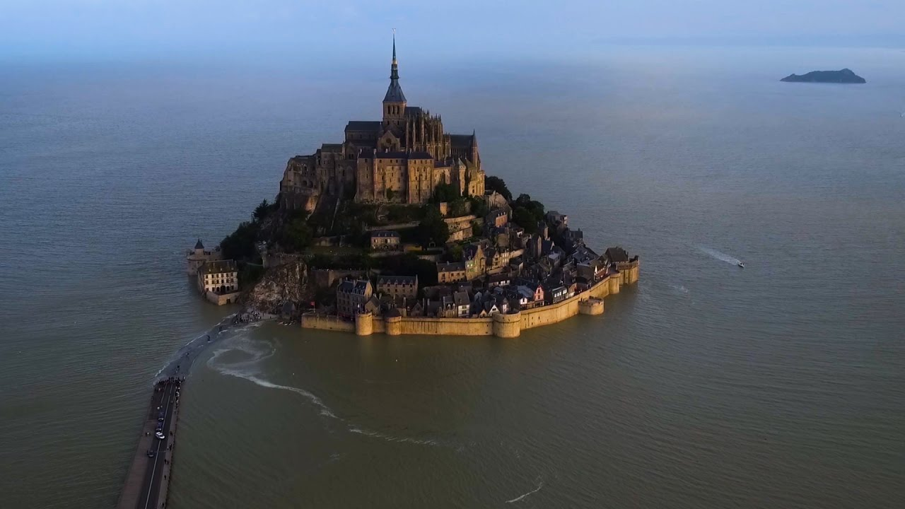 The Timeless Beauty of Mont Saint-Michel, A Medieval Island Abbey Near Normandy, France