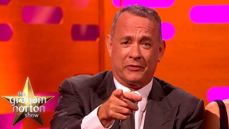 Tom Hanks Recites a Classic Line From Forrest Gump on The Graham Norton Show