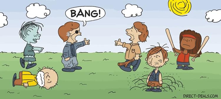 Peanuts as The Walking Dead