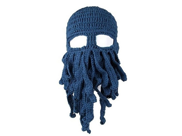 Octopus Ski Mask Blue