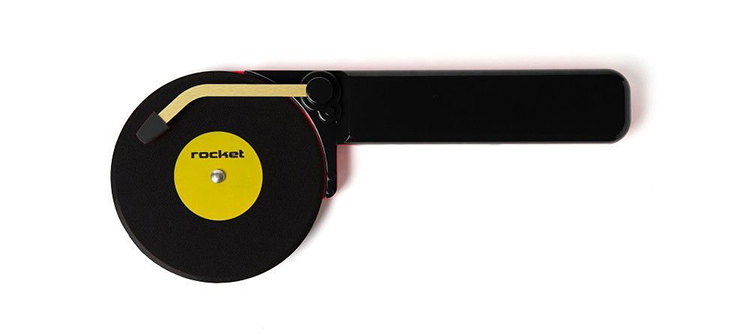 Turntable Pizza Cutter