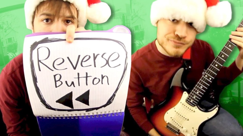 A Backwards Recording of 'We Wish You a Merry Christmas' Played In Reverse