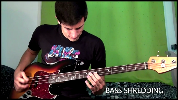 An Incredible Montage of Bass Guitar Tricks
