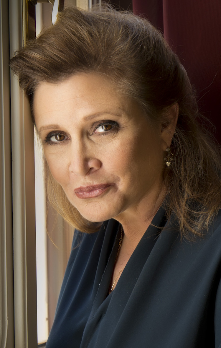 Carrie Fisher (1956-2016), Legendary Actress, Screenwriter, Author, Producer and Hero