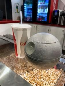 Death Star Popcorn Tub