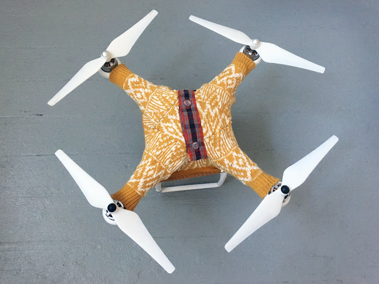 drone sweaters