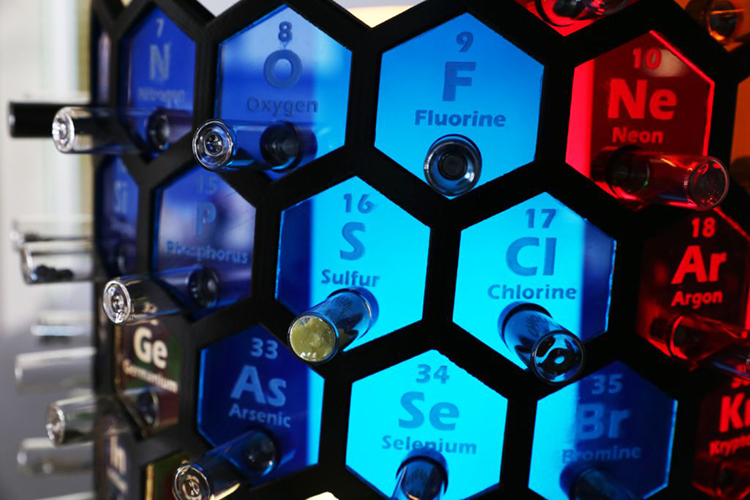 3D Periodic Table Lamp