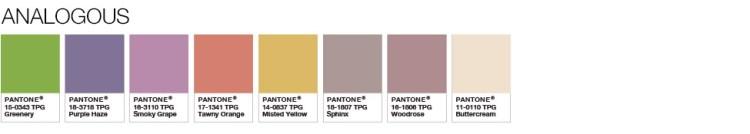 Greenery Analogous Palette