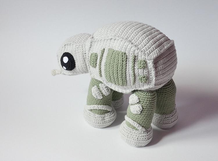 Adorable Star Wars At At Walker Crochet Pattern