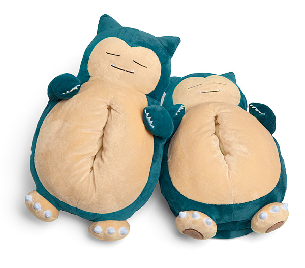 Pokemon Snorlax Slippers That Make Snoring Noises While You Walk