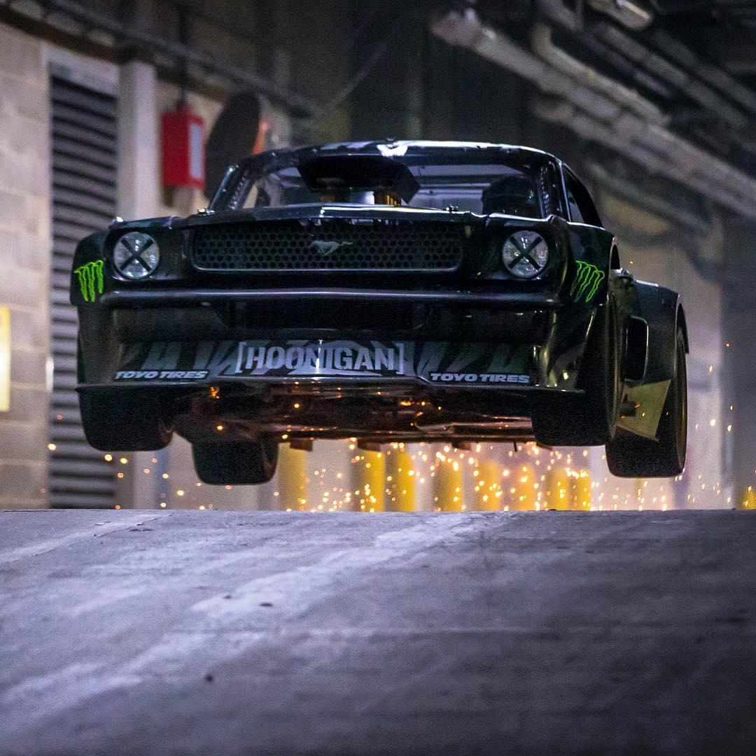 Rally Driver Ken Block Takes Matt LeBlanc on a High Speed, Drift ...
