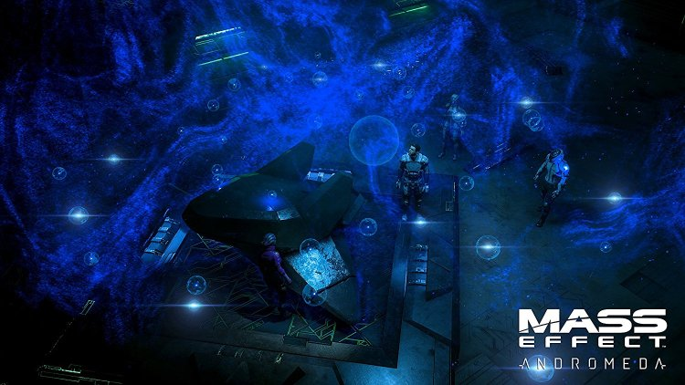 Mass Effect: Andromeda Space Cave