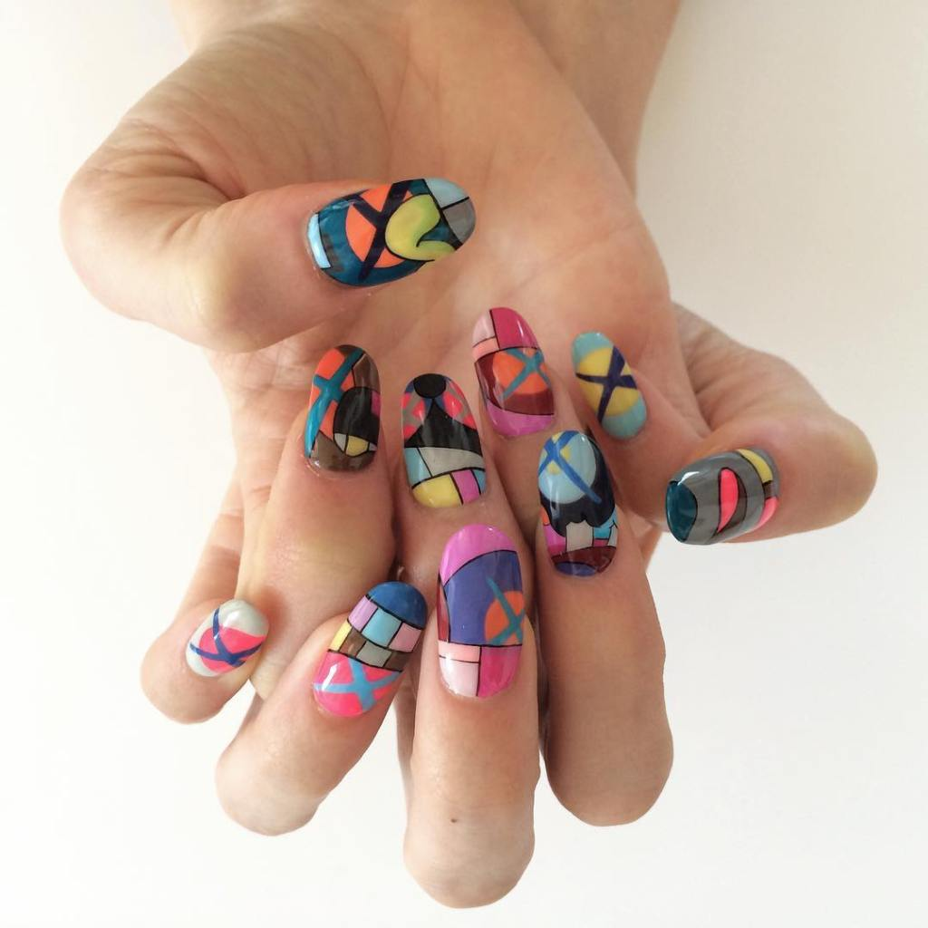 Nail Art History: NYC Woman Fabulously Recreates Colorful Modern Art