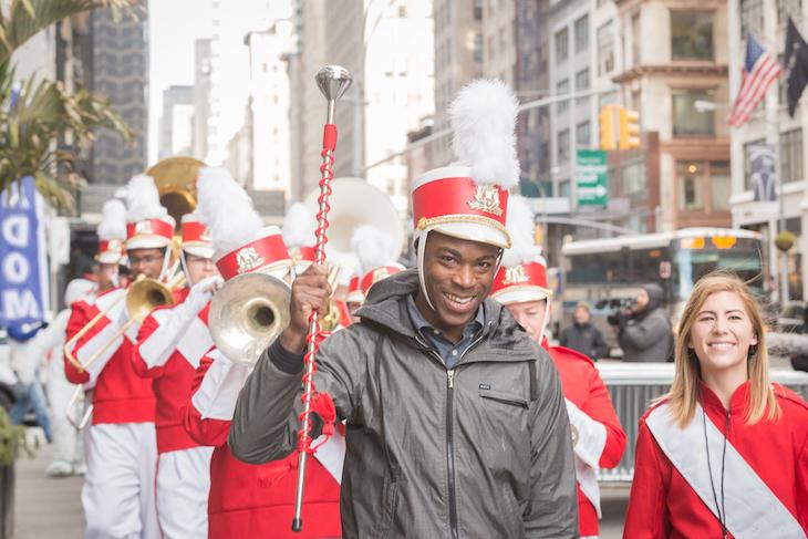Parade Leader Man