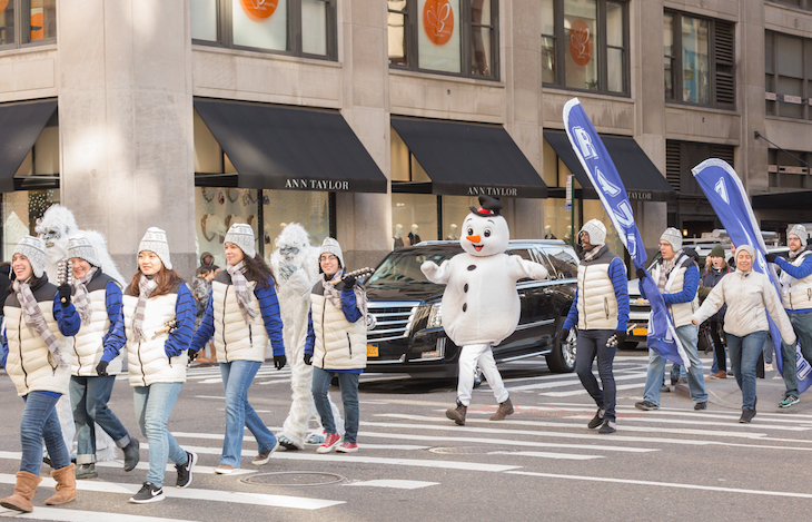 Parade Snowman