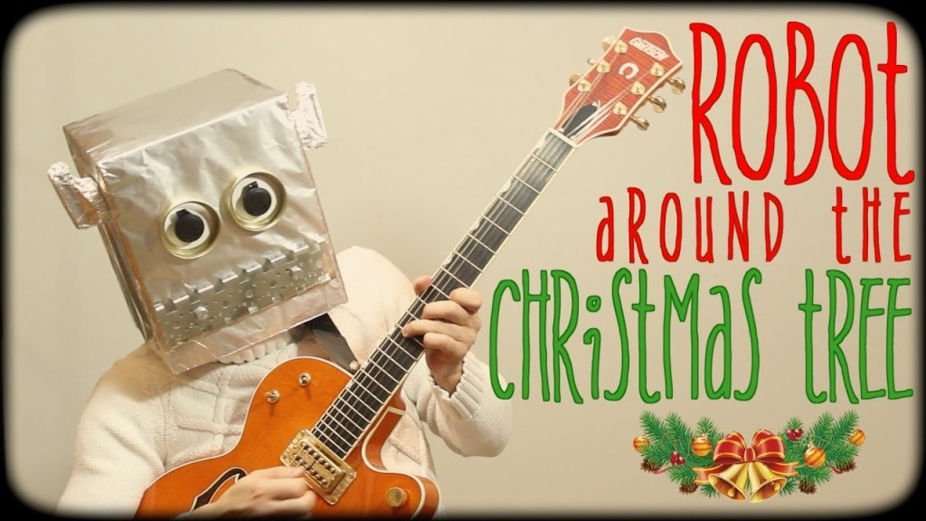 Samuraiguitarist Plays a Robotic Cover of Brenda Lee's 'Rockin' Around The Christmas Tree'