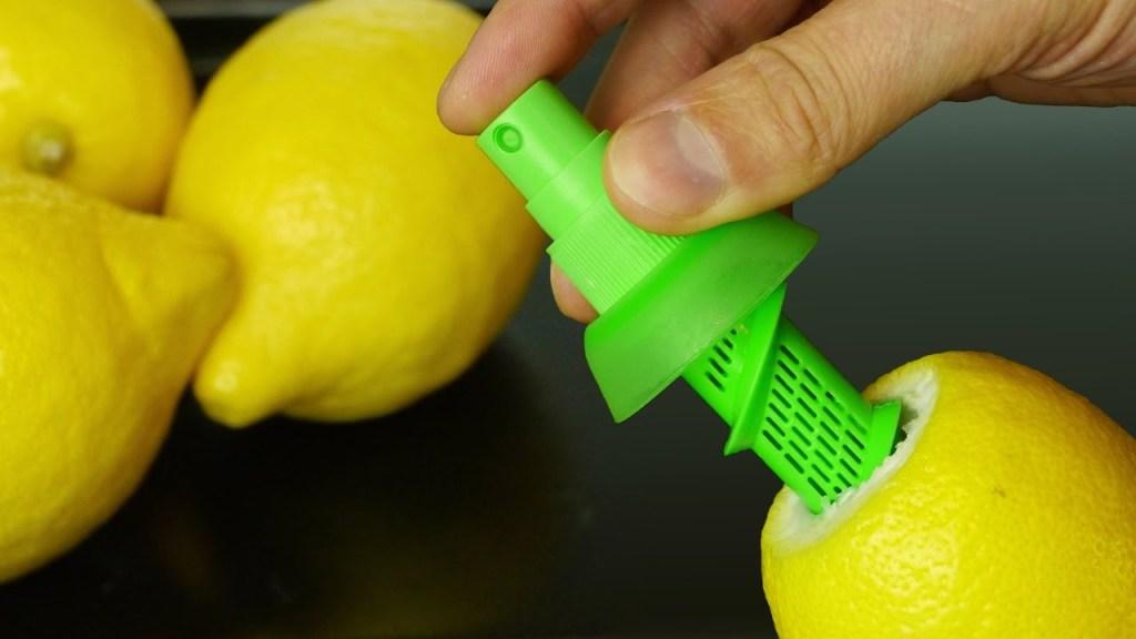 Life Hacks Using a Lemon Juice Citrus Sprayer