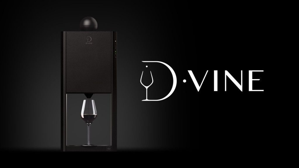 The D-Vine, A Clever Device That Serves Single Aerated Glasses of Wine at the Ideal Temperature
