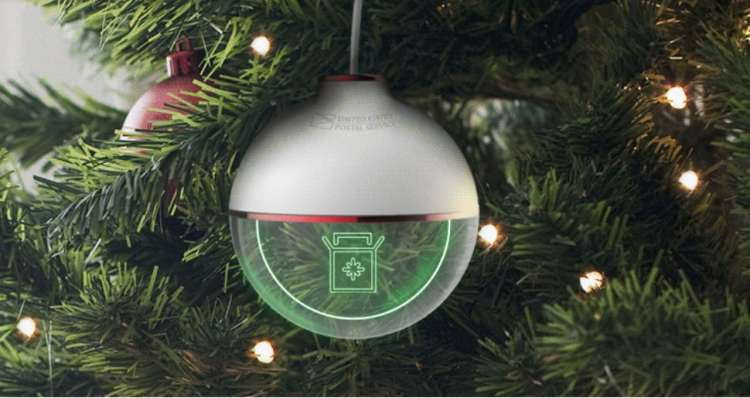 Usps Christmas Eve.Us Postal Service Introduces A Christmas Tree Ornament That
