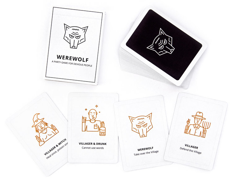 Werewolf Game Expanded Deck