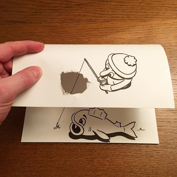 Brilliant 3D Illusion Drawings That Add Depth to Everyday Scenes