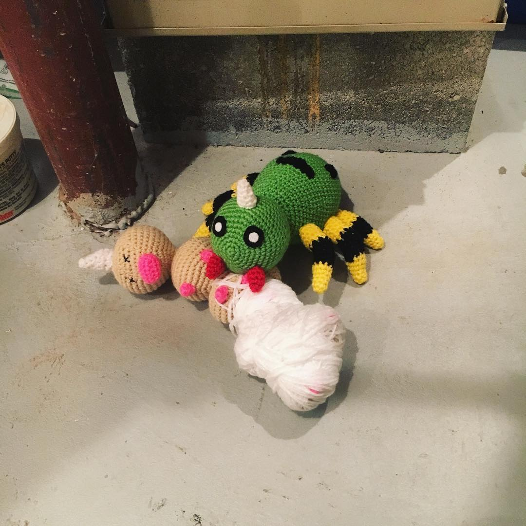 Mew Amigurumi Crochet Stuffie Pokemon Plush Handmade | Etsy | 1080x1080
