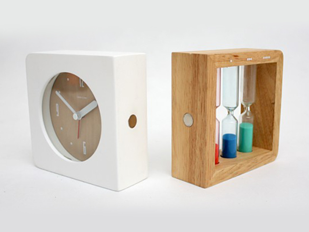 Three Hourglass Alarm Clock