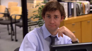 Every Time Jim Looks At The Camera