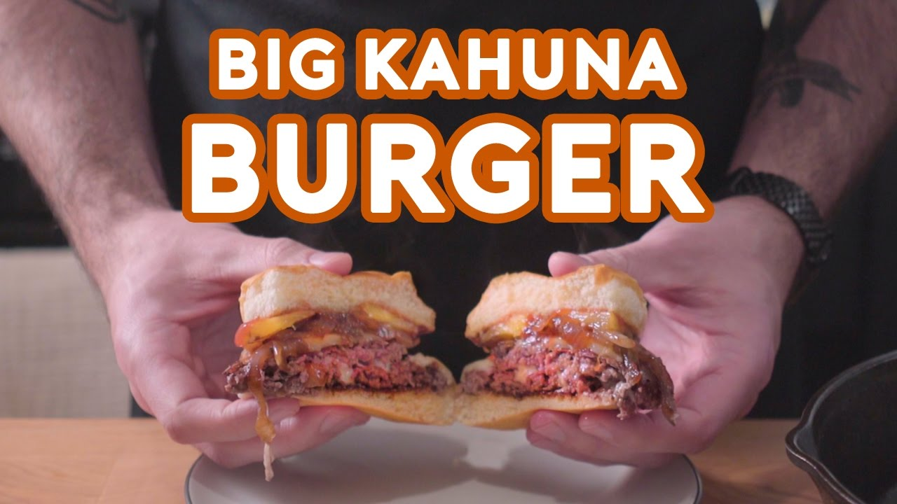 ... Looking Recreation of the Big Kahuna Burger From Pulp Fiction