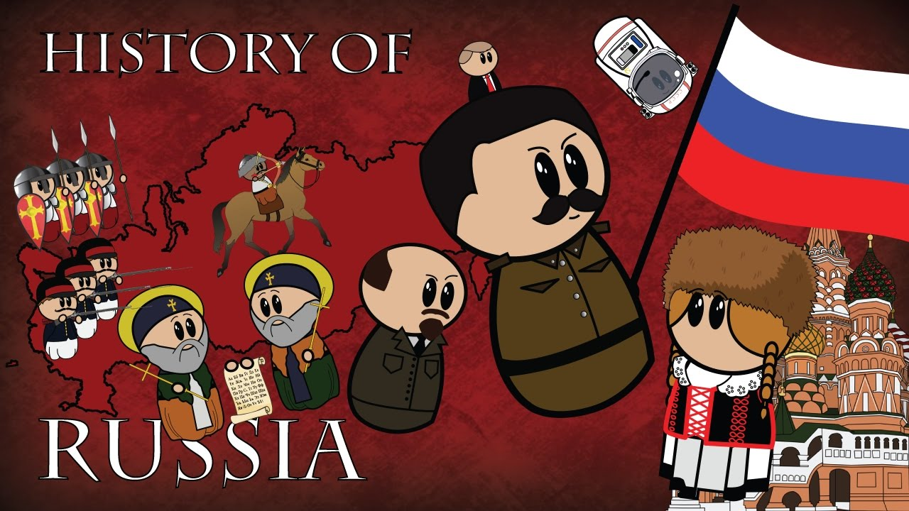 An Animated History of Russia