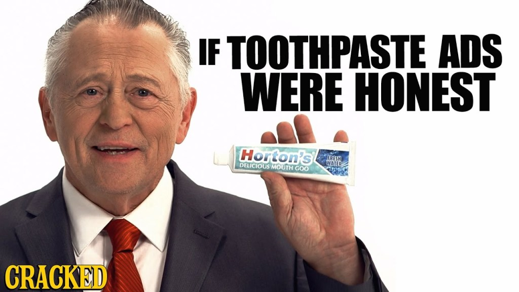 An Honest Ad That Reveals the Truth About Toothpaste and the Usefulness of Mouth Goo