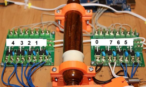 Ardu McDuino numbered connections