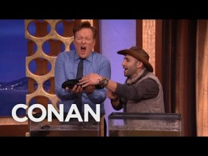 Coyote Peterson on Conan