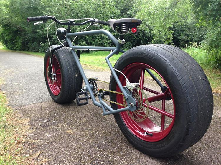 Car Tire Bike