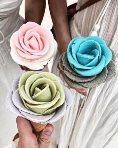 gelato roses