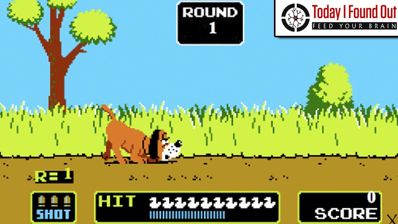 How Nintendo's NES Zapper Light Gun Worked on the Original Duck Hunt Video Game