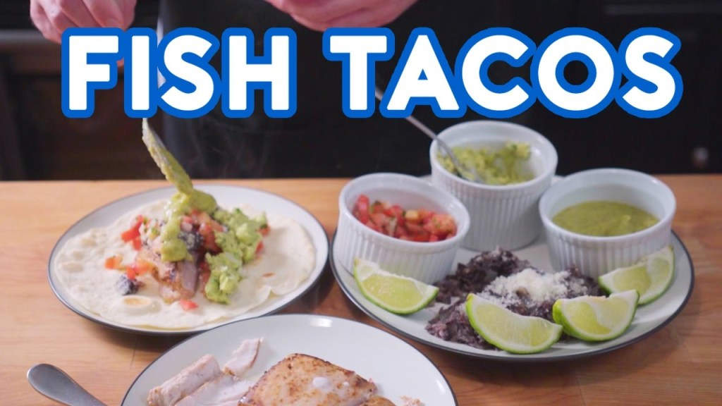 How to cook the best fish tacos in the world from the for Best fish to use for fish tacos