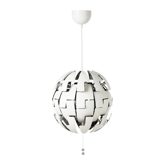 Ikea Ps 2014 Pendant Lamp Like The Death Star White Silver: How To Turn A Ikea Hanging Pendant Lamp Into An Exploding