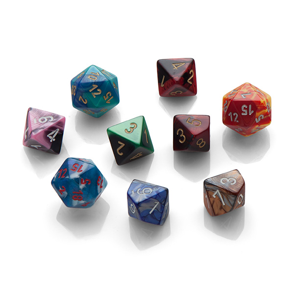 Gaming Dice Soap Set