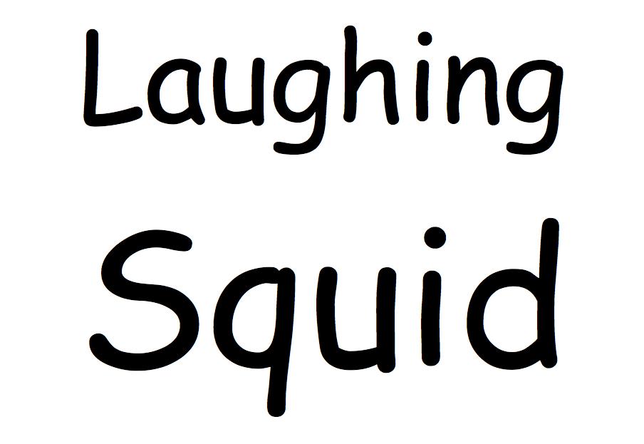 Laughing Squid Comic Sans