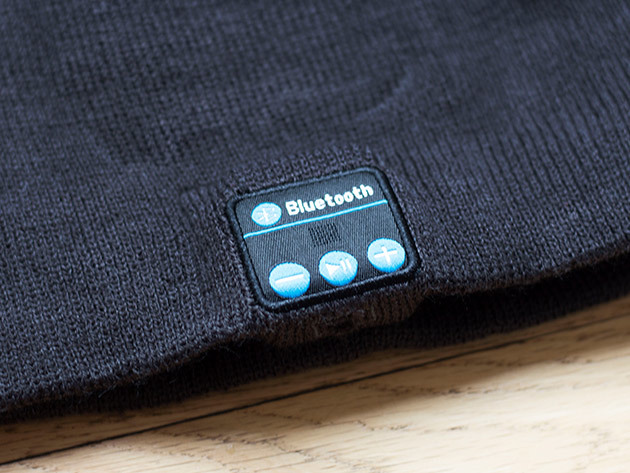 Wireless Beanie Bluetooth Hat Controls