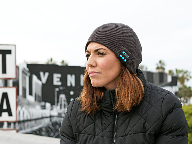 Wireless Beanie Bluetooth Hat Woman