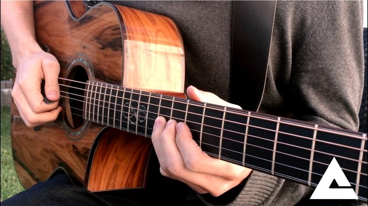 Pretty Book Cover Guitar ~ A beautiful acoustic cover of the iconic solo from