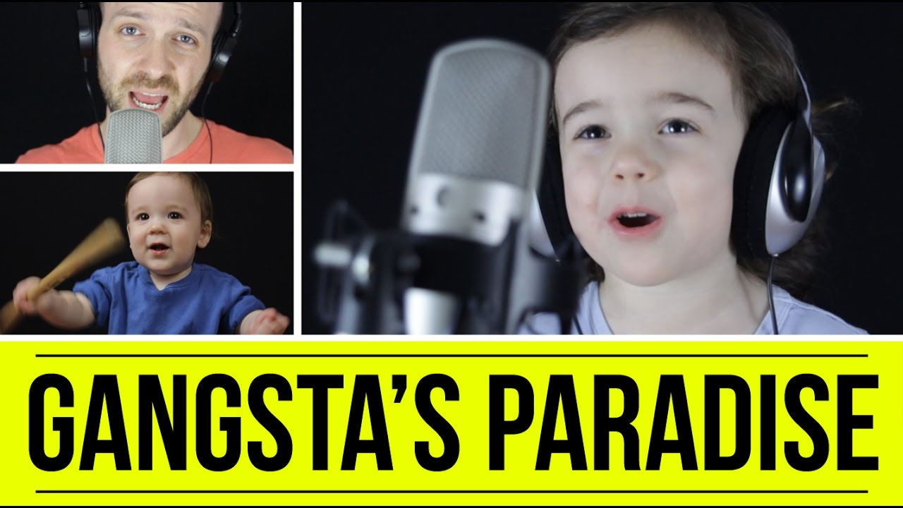 A Dad and His Cute 4-Year-Old Daughter Sing Coolio's 'Gangsta's Paradise'