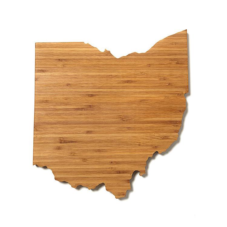 wooden cutting boards shaped like u s states. Black Bedroom Furniture Sets. Home Design Ideas