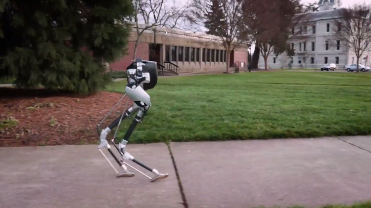 The New Bipedal Robot Cassie Shows Off Its Moves, Balance, and Agility