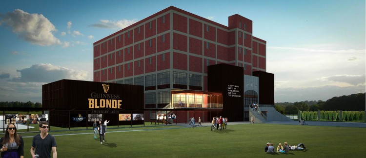 Guinness Open Gate Brewery Concept Exterior